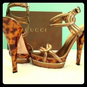 Gucci orchid heels/platforms/shoes